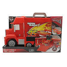 100 Lightning Mcqueen Truck Amazoncom Cars 3 Macks Mobile Tool Center Toys Games