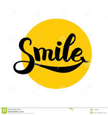 Smiley Laugh Lettering Positive Symbol Motivation Text Happy Sign Kids Funny Poster Modern Design Laughing Face Phrase Healthy Inspire Icon