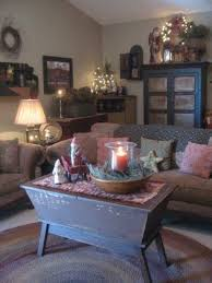Primitive Living Rooms Pinterest by Cozy And Charming Little Country Cottage Living Room My Dream