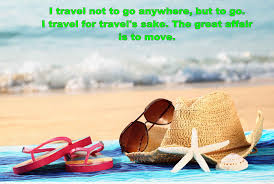 Travel Quote With Summer Hd Wallpaper