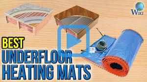 Suntouch Heated Floor Not Working by Top 6 Underfloor Heating Mats Of 2017 Video Review