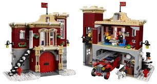 The New LEGO Winter Village Fire Station Brings The Holiday Season ...