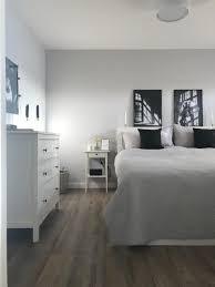 weiß schlafzimmer bett kommode ikea hemnes grau