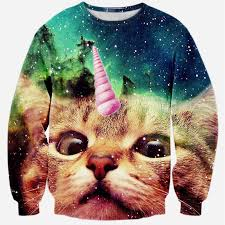 cat hoodies aliexpress buy unicorn no hoodies 3d cats clothing