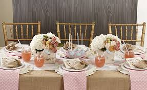 Rustic Bridal Party Table Decor Decorations For Shower Show On Images Weddings