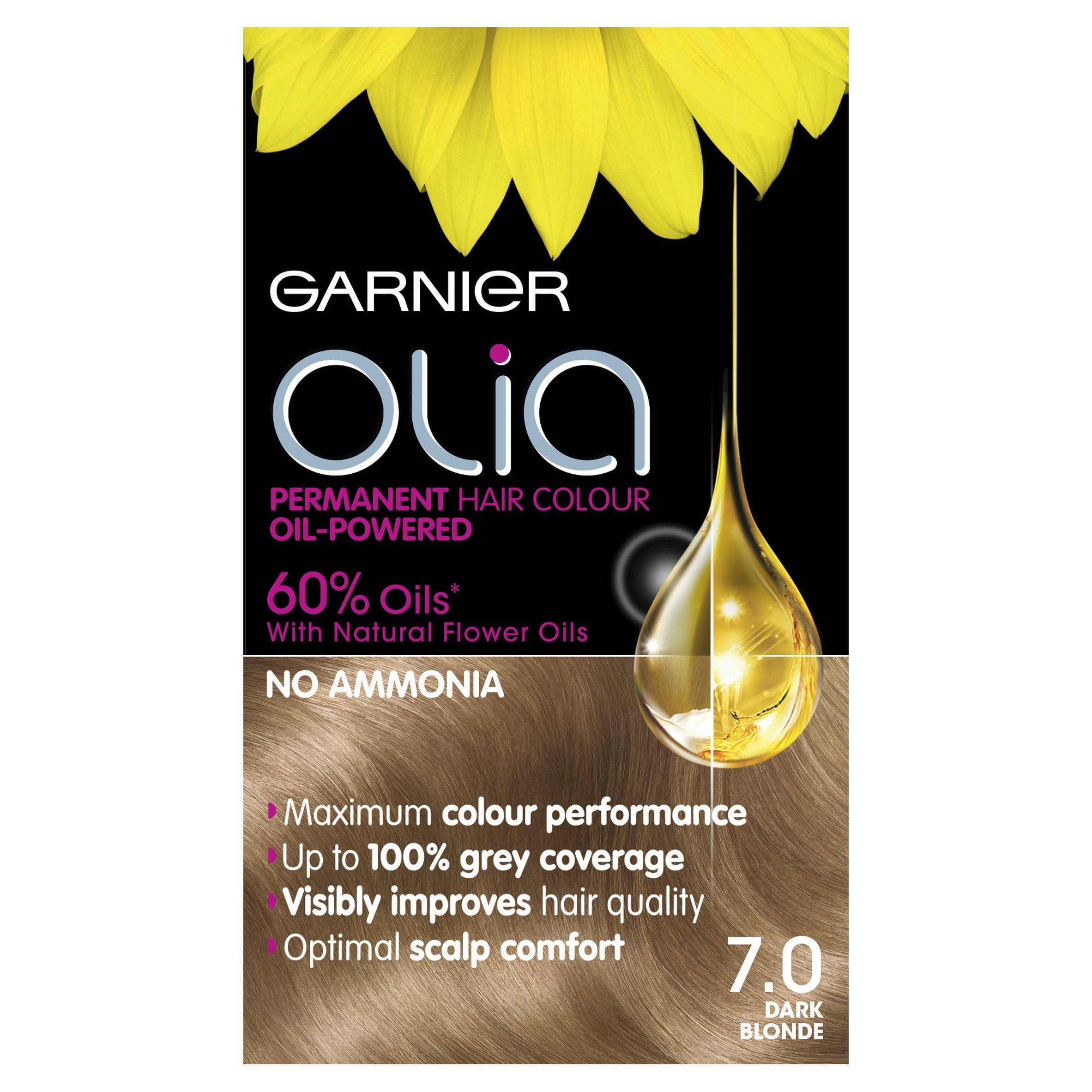 Garnier Olia Permanent Hair Colour - 7.0 Dark Blonde