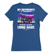 My Boyfriend's A Trucker And I'm In It For The Longhaul Truckers ... Texas Chrome Tshirts Shop Trucker Tshirts Andy Mullins Dsquared2 Heavy Metal Trucking Tshirt Now 17300 Toprun Truck From All Over The World Xclusive Cool Apparel Merchandise Truckin Adult Size Tiedye Tshirt Grateful Dead And Company Co Large Marge Co Pee Wees Big Adventure Parody We Design Custom Shirts I Work At Celadon Hoodie Tops T Shirt Mens Short Cotton Crew Neck Truck Driver Cotton Tshirt By Hirts Online Truklife Widowmaker Freight Inc King Unisex