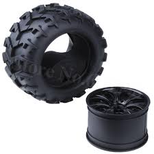 100 Monster Truck Wheels 4x 32 RC 18 Tires Complete 150MM80MM Hex