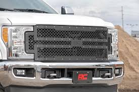 Mesh Replacement Grille For 2017-2018 Ford F-250 / F-350 Super Duty ...