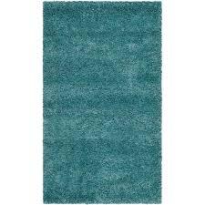 Safavieh Milan Shag Aqua Blue 4 ft x 6 ft Area Rug SG180 6060 4