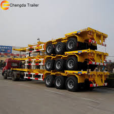 100 Truck Trailer Manufacturers Skeleton Container Skeletal Container