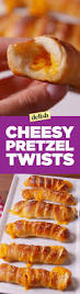 Halloween Pretzel Sticks by Best Cheesy Pretzel Twists Recipe How To Make Cheesy Pretzel