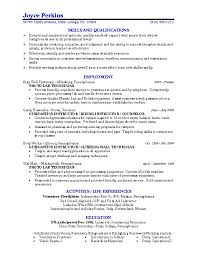 Examples Of Resume For Cover Letter Example College Student