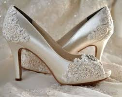 I love the classy looking lace over the toe and heel very beautiful