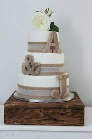 Rustic Initial Cake Toppers Unique Personalised Ideas On Wedding Small Wooden Letters Topper Decor Nursery Cakes