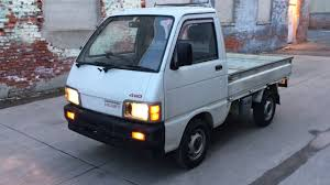 100 Hijet Mini Truck 1993 4x4 Daihatsu Toyota For Sale By Boekiusa YouTube