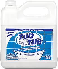 spray nine tub n tile cleaner spray nine