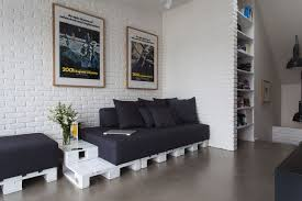 Diy Pallet Furniture Ideas Living Room White Paint