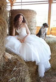 Country Style Wedding Dress With Keyword