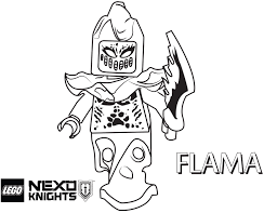 Lego Nexo Knights Coloring Pages 4
