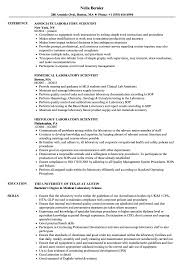 Download Laboratory Scientist Resume Sample As Image File