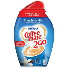 Nestle Coffee Mate 2Go French Vanilla Liquid Creamer