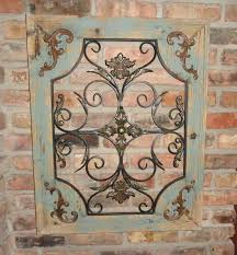 Iron Art Gallery Home Ation Rustic Wood And Metal Wall