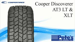 100 Cooper Tires Truck Tires Discoverer AT3 Light Tire YouTube