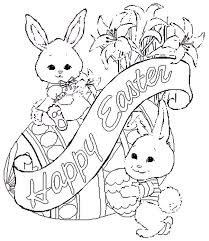 Image Detail For Cute Easter Coloring Pages Letter