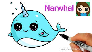 Advice Unicorn Drawing Pictures Cartoon How To Draw A Narwhal Whale