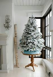9 Ft Flocked Pre Lit Christmas Tree by 12 Of The Best Flocked Christmas Trees In Every Size Chris Loves