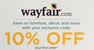 WAYFAIR: 10% Off Your First Order - Discount Online Code [3/15/18 ... Coupons Off Coupon Promo Code Avec 1800flowers Radio 10 Off Amazon Code Dicks Sporting Goods Coupon Best July 4th Sales To Shop Right Now Curbed West Elm Moving Adidas In Store Five 5x Lowes Printablecoupons Exp 53117 Red Lobster Canada Save Your Entire Check Kohls Coupons Codes December 2018 Childrens Place 30 Find More Wayfair For Sale At Up 90 Discount 2019 Amazon 20 Order Mountain Rose Herbs Shop Huge Markdowns On Bookcases The Krazy Lady Reitmans Boxing Day Sale On Now An Extra 60