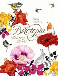 The Beautiful Birdtopia Coloring Book With Illustrations By Daisy Fletcher