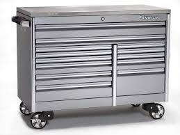 100 Service Truck Tool Drawers Clear Coat Finish For Tool Storage