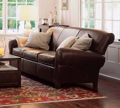 Pottery Barn Grand Sofa by Furniture Awesome Pottery Barn Leather Sofa Sleeper Sofa Sets