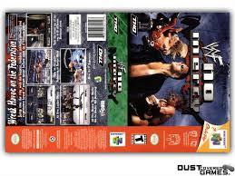 WWF No Mercy N64 Nintendo 64 Game Case Box Cover Brand New ...