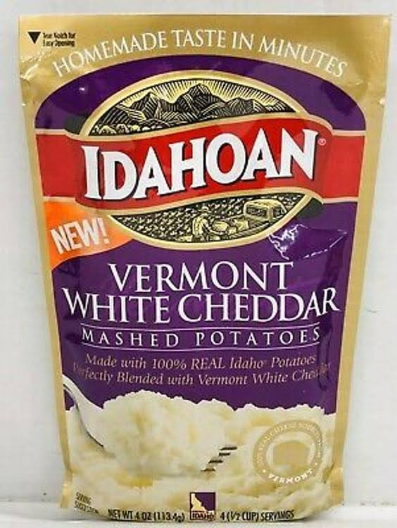 Idahoan Vermont White Cheddar Instant Mashed Potatoes 4 oz