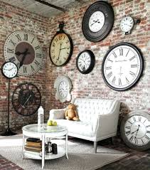 Big Wall Clock Decor Ideas Large Decorative Clocks Brilliant