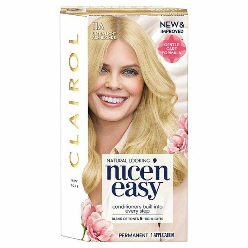 Nice N Easy Permanent Hair Dye - 11A Ultra Light Ash Blonde
