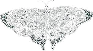 Butterflies Coloring Pages Swallowtail Butterfly Page Free Printable