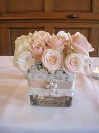 Shabby Chic Wedding Decorations Hire by Centerpieces Ribbon Outside Check Www Candlesandfavors Com For
