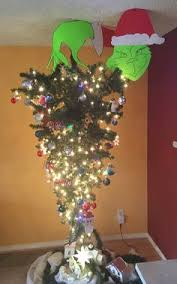 This Year For Christmas My Son Caysey Hanke Asked If We Could Hang Our Tree Upside Down Troy A Wonderful Father He Is Decided To Make It