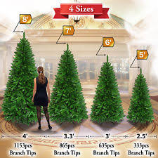 7ft Slim Christmas Tree by Artificial Christmas Trees Ebay