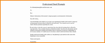 Professional email format good depiction how write proffesional