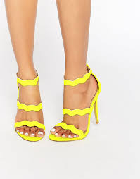 rotating bow tie watch at asos yellow strappy heels neon yellow