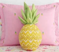 Pottery Barn Decorative Pillows pineapple shaped decorative pillow pottery barn kids