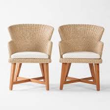 Staton 2pk Wood & All Weather Wicker Patio Dining Chair W/Sunbrella ... Vintage Smith And Hawken Teak Outdoor Patio Set Chairish Exterior Interesting And Fniture For Inspiring 36 Wood Folding Chairs Mksoutletus Cheap Ding Find Deals On Line At Garden Emily Henderson Chair Sets Best Rated In Adirondack Helpful Customer Reviews Amazoncom Large Lounge Pair Sale 1stdibs