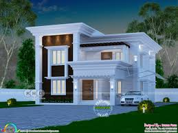 100 Home Designed 4 Bedroom 2060 Sq Ft Arabian Style Home Design Kerala Home