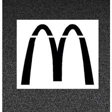 Buy McDonalds Parking Lot Stencils