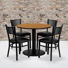 36'' Round Natural Laminate Table Set With 4 Grid Back Metal Chairs - Black  Vinyl Seat Flash Fniture 36 In Round Natural Laminate Table Set With Cosco Vinyl Folding Chairs Game Poker Teal Shacos Placemats For Dinner Of 6 Pvc Woven Mats Wipe Clean Heat Resistant6 Green Bamboo Grid Us 208 2015 Free Shipping Coffee Shop Wall Decal Tea Cafe Restaurant Decoration Chair Mural Art Stickerin Minimalist And Cool Scdinavian Ding Modern Room Small White Big Material Faux Detail Feedback Questions About 24 Kitchen Height Tables For Tray Cloth Foldable Combi Roller Venetian Blinds Curtains Carpet Roll Vinyl Sutton 3 Piece Spacesaver Bistro Glass Top And Padded